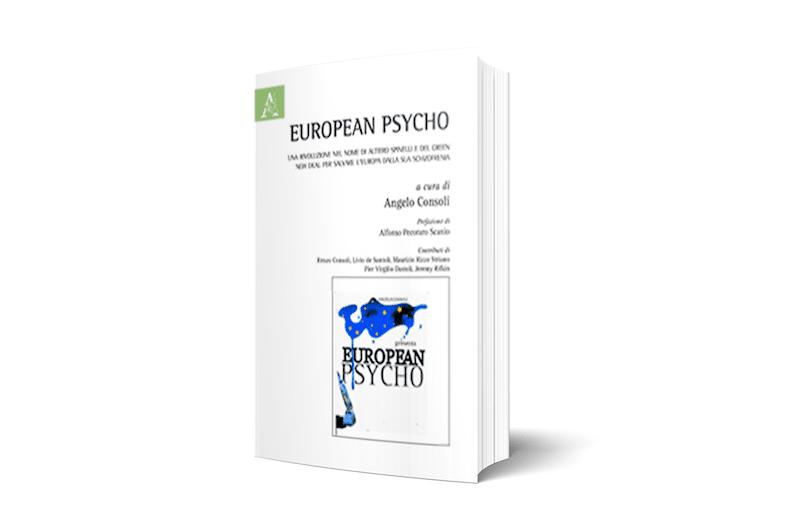 """A ROMA, PRESENTAZIONE DEL LIBRO """"EUROPEAN PSYCHO"""""""