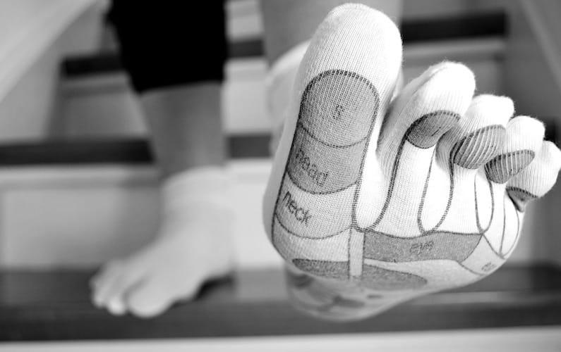 Mappa riflessologa del piede