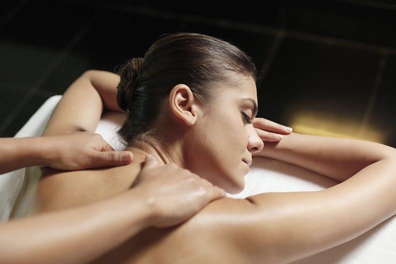 Massaggio del collo