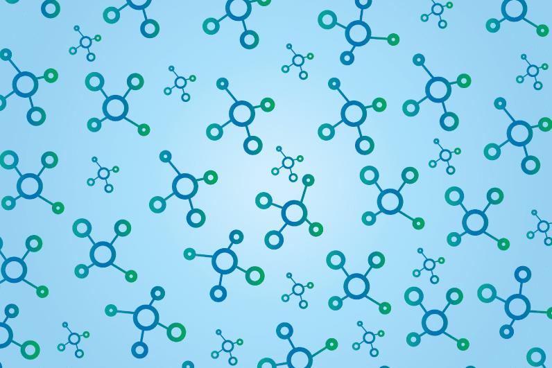 struttura di atomi