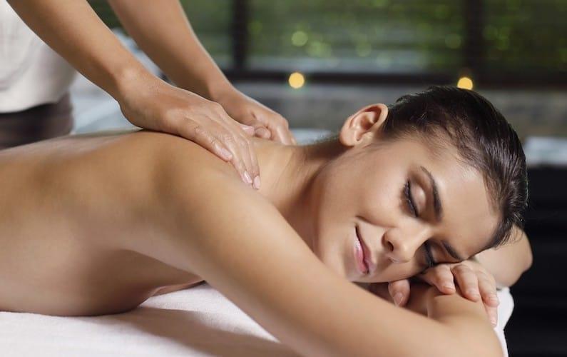 Massaggio al collo