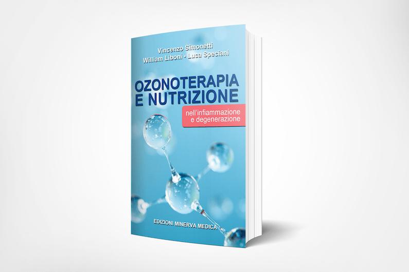 """Copertina del libro """"Ozonoterapia e nutrizione"""""""